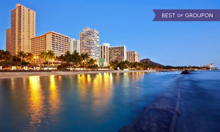 groupon daily deal - Stay at Pacific Beach Hotel in Honolulu, with Dates into May
