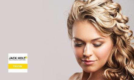 Shampoing, coupe et coiffage (brushing) avec soin, coloration ou balayage dès 24,90 € au salon Jack Holt   Tassin