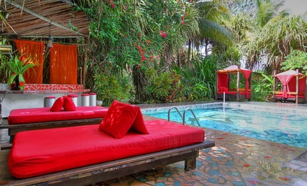 3-, 4-, or 6-Night Stay for Two with One-Way Airport Transfer and Spa Treatment at Maruba Resort Jungle Spa in Belize