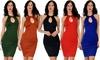 Lyss Loo Home Before Daybreak Women's Bodycon Dress: Lyss Loo Home Before Daybreak Women's Bodycon Dress