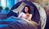Auvent pour lit d'enfant motif licorne