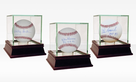MLB Autographed Baseball with Glass Display Case. Multiple Players Available from $69.99–$369.99. Free Returns.