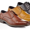 Adolfo Wilfred Men's Cap-Toe Lace-Up Dress Shoes