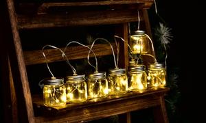 Guirlande LED solaire 10 bocaux
