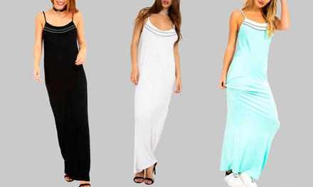 Be Jealous Cami Basic Maxi Dress Available up to Size 26