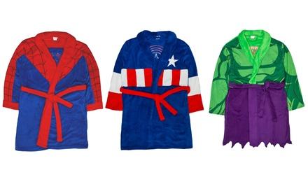 Marvel OfficiallyLicensed Superhero Men's Bathrobe
