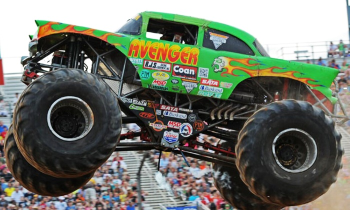 Tournament of Destruction - Tucson Rodeo Grounds: Tournament of Destruction Monster-Truck Event and VIP Pass on April 1 or 2 at 5 p.m.