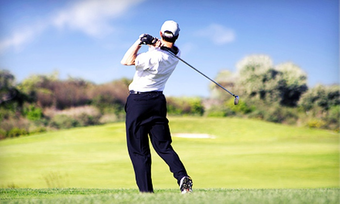 Pine Hill Golf Club & Course - Pond Road: $39 for 18-Hole Golf Outing for Two with Cart and Range Balls at Pine Hill Golf Club & Course in Brewer ($80 Value)