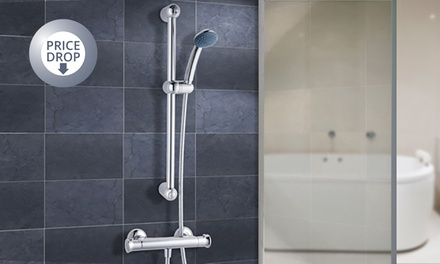 Thermostatic Shower Bar Kit £39.98 or System with Round Head £59.99 With Free Delivery