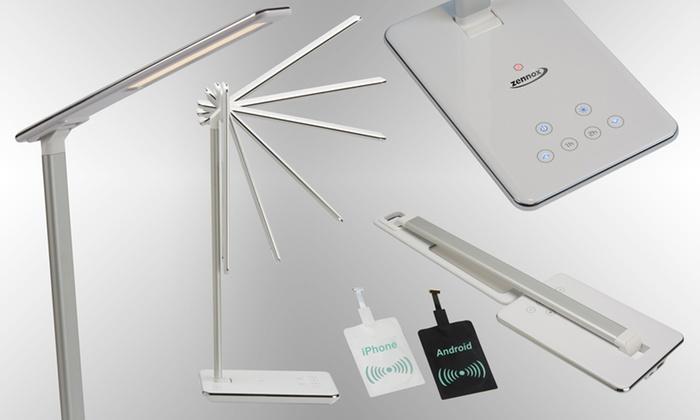 Lampe avec chargeur sans fil groupon shopping for Lampe de bureau sans fil