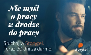 Storytel: Groupon wart 29,90 zł na 30 dni darmowego korzystania ze Storytel