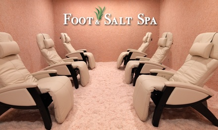 Up to 25% Off Salt Therapy Session at Foot & Salt Spa