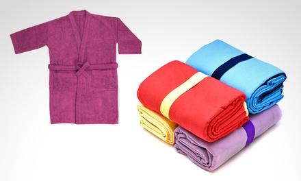 Desde $99 en vez de $199 por alfombra de baño, bata, cortina de baño o toallones a elección para retirar en sucursal