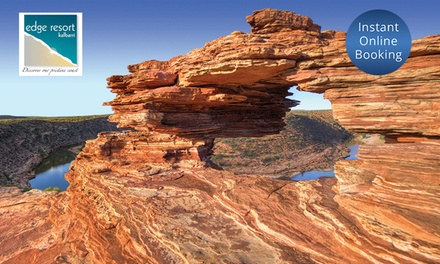 Kalbarri: 2, 3, or 4 Nights or 4 People with Wine, Restaurant Voucher, and Late CheckOut at Kalbarri Edge Resort
