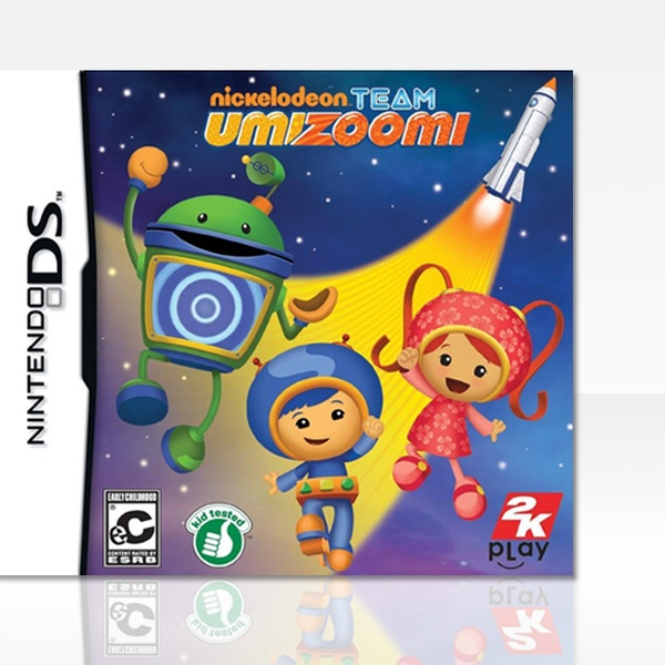 18b619ad6f3 4-Game Nintendo DS Bundle with Dreamworks Super Star Kartz, Beyblade, Team  Umizoomi, and Little League.