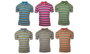Vese by Verdo Men's Short-Sleeve Slim Fit Polo Shirt