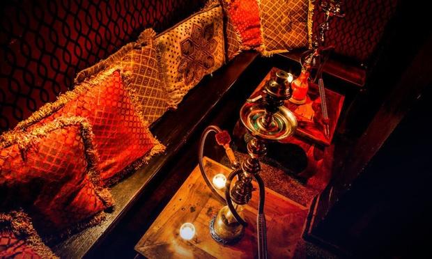 Shisha cocktails and pizza marrakech lounge cocktail - Shisha bar lounge mobel ...