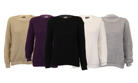 Women's Crochet Jumper for £9.98