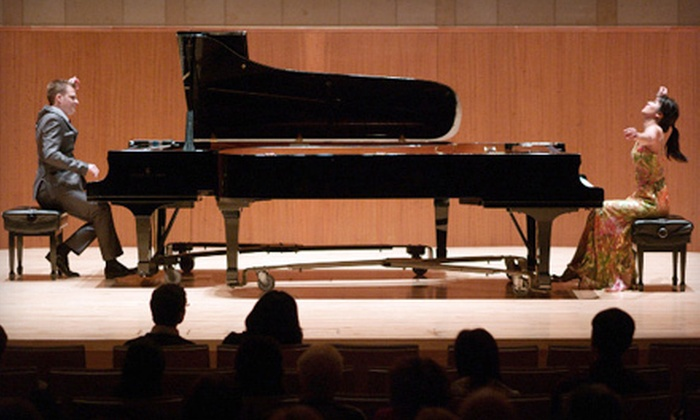 Anderson and Roe presented by Music by the Lake - Williams Bay: $15 for Music by the Lake Presents Pianists Anderson and Roe at Ferro Pavilion in Williams Bay on August 5 ($30 Value)