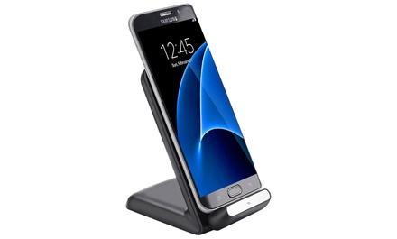 Chargeur sans fil à induction pour iPhone 8/8+/X et Samsung Galaxy S6/S6 Edge/S6 Edge/S7/S8/Note 8