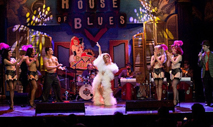 Bustout Burlesque - House of Blues New Orleans: Bustout Burlesque at House of Blues New Orleans on Friday, August 16, at 8 p.m. or 10:30 p.m. (Up to $31 Value)