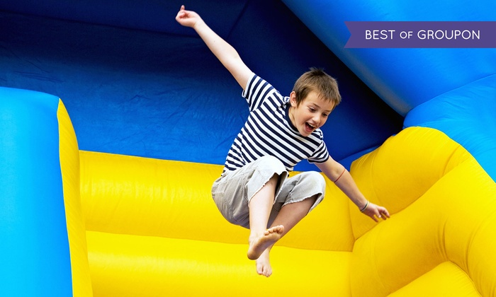 My Three Sons Family Fun Center - Central Norwalk: Pizza, Lazer Maze Challenge, and Jump Time for Two or Four at My Three Sons Family Fun Center (Up to 51% Off)