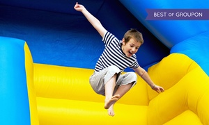 My Three Sons Family Fun Center: Pizza, Lazer Maze Challenge, and Jump Time for Two or Four at My Three Sons Family Fun Center (Up to 51% Off)