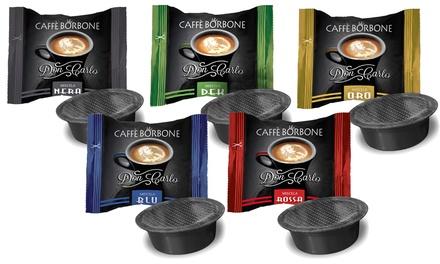 Fino a 400 capsule di Caffè Borbone compatibili con Lavazza A Modo Mio