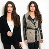 Women's Knit, Leather And Suede Jackets