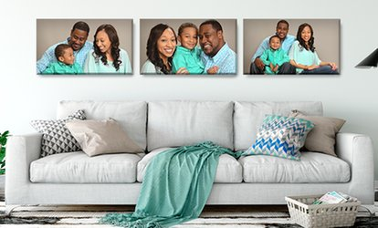 image for Professional In-Studio Photo Shoot & Canvas Print or Framed Wall Print at JCPenney Portraits (Up to 85% Off)