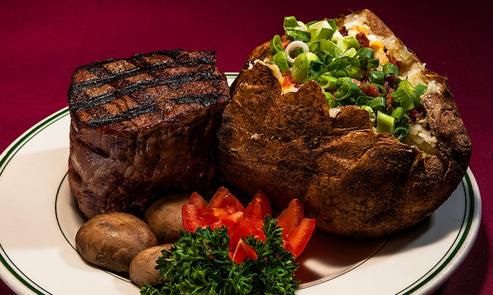 Red Tracton's Steakhouse - Red Tracton's Steakhouse: Steak-House Cuisine at Red Tracton's Steakhouse (Up to 50% Off). Three Options Available.