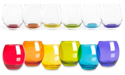 Set di 6 bicchieri Excelsa