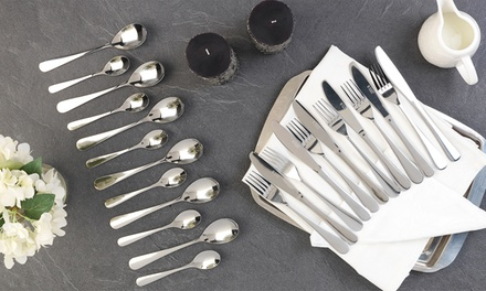 Russell Hobbs 24 or 48Piece Deluxe London Stainless Steel Cutlery Set