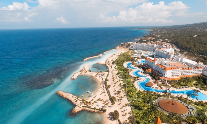 3- or 5-Night All-Inclusive Grand Bahia Principe Jamaica Stay with Air from Travel By Jen - Runaway Bay: ✈3- or 5-Night All-Incls Grand Bahia Principe Jamaica Stay w/Air from Travel By Jen. Price/Person Based on Dbl Occ.