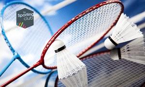 Le Sporting Club Poitiers: Badminton, squash, padel pour 2 ou 4 personnes ou foot en salle d'1h pour 10 joueurs dès 5,90€ au Sporting Club Poitiers