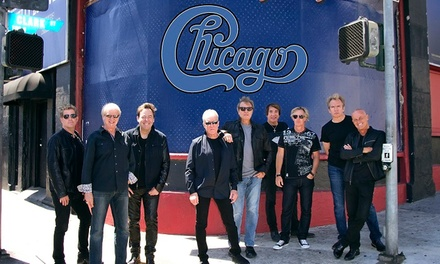 Chicago & The Doobie Brothers on Saturday, July 29 at 7:30 p.m.