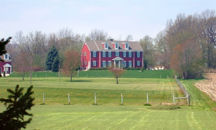 2 Nights for Two in a Purplefinch, Warbler, or Cardinal Suite at Songbird Prairie Bed and Breakfast in Valparaiso, IN