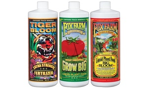 Fox Farm Nutrients: Grow Big, Tiger Bloom, Big Bloom (3-Pack; 16 Oz.)