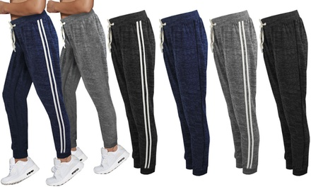 Marl Print Jogging Bottoms