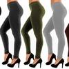 Women's Slimming French Terry Leggings (5-Pack)