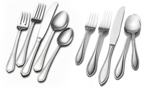 International Silver Flatware Set for 12 (102-Piece)