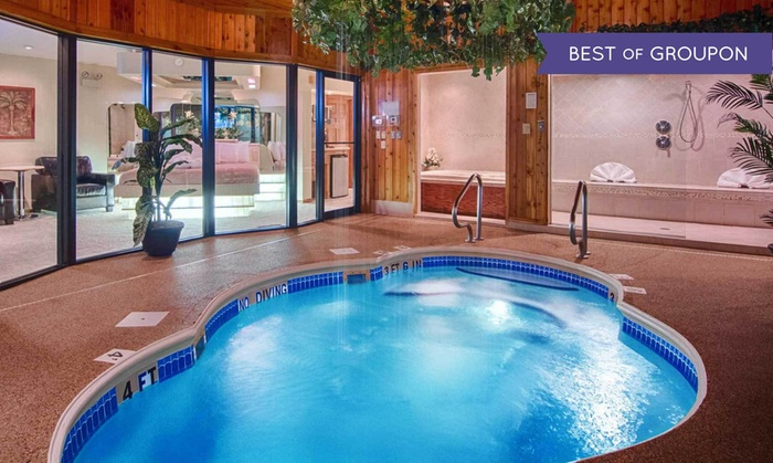 Sybaris Pool Suites with Romance Package
