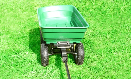 Garden Dump Wheelbarrow Trolley Cart for £49.99 With Free Delivery