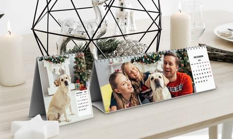 Foto-Calendario con imagen personalizable a elegir entre varios tamaños con Photo Gift (hasta 84% de descuento)