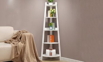 5-Tier Corner Storage Shelf