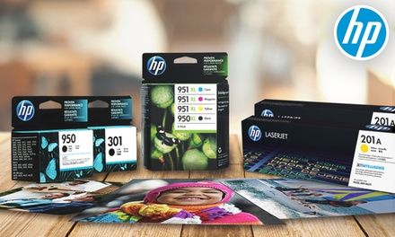 Consigue un 25% descuento en Tinta y Tóner HP