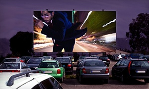 Sky-Vu Drive-In Theater: Drive-In Double Feature with Snacks for Two Adults or Family of Four at Sky-Vu Drive-In Theater (Up to 52% Off)