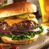 Burger nach Wahl mit Beilage