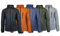 Spire by Galaxy Mens Lightweight Puffer Jacket ( Multiple Colors)