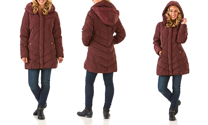 877d2c752b8 Steve Madden Women s Long and Short Quilted Coats (Size M)